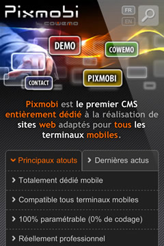Site mobile pixmobi